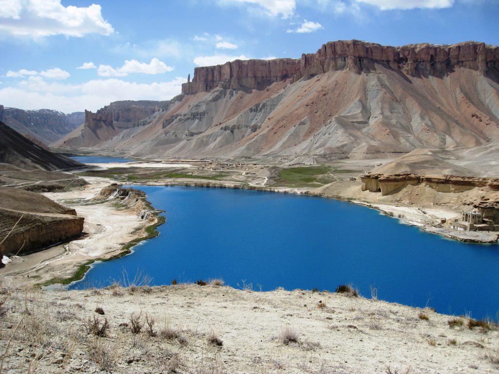 Красивый горный пейзаж в Афганистане