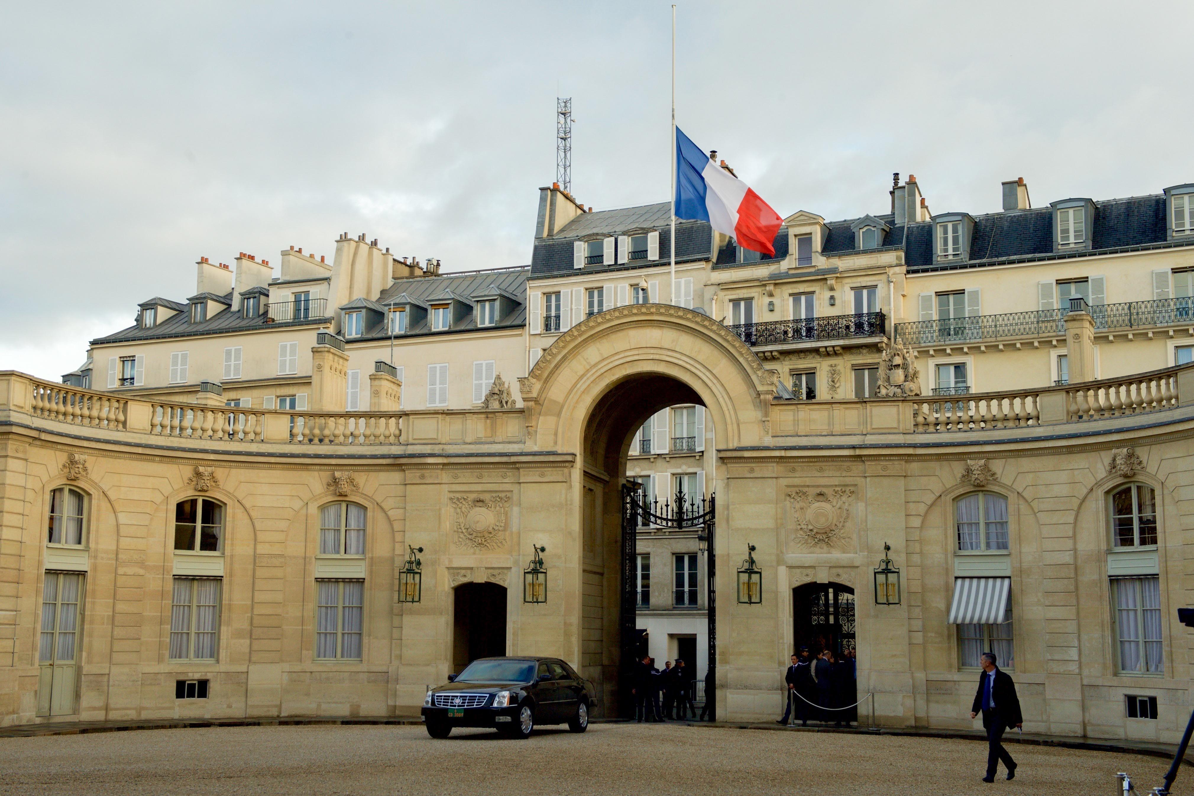 Фото Елисейского дворца в Париже