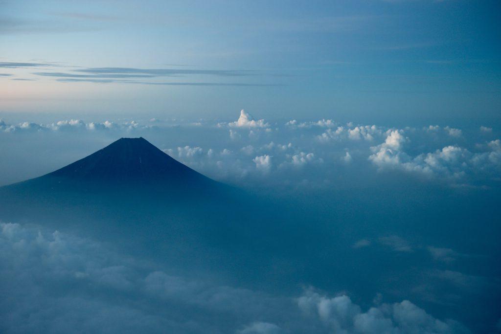 Гора Фудзияма (Фудзи) в Японии