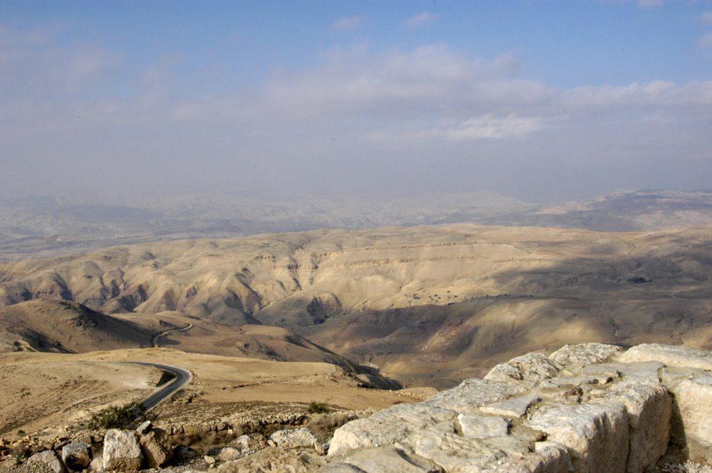 Природа и горы Иордании фото