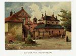 Костёл Капуцинов в Кракове в конце 19 века