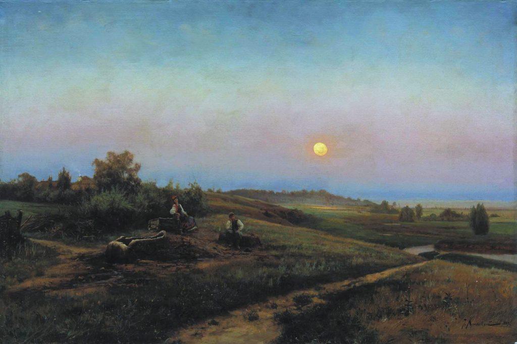 Крачковский - картина Украинский вечер