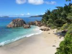 Пляж острова Ла Диг на Сейшельских островах