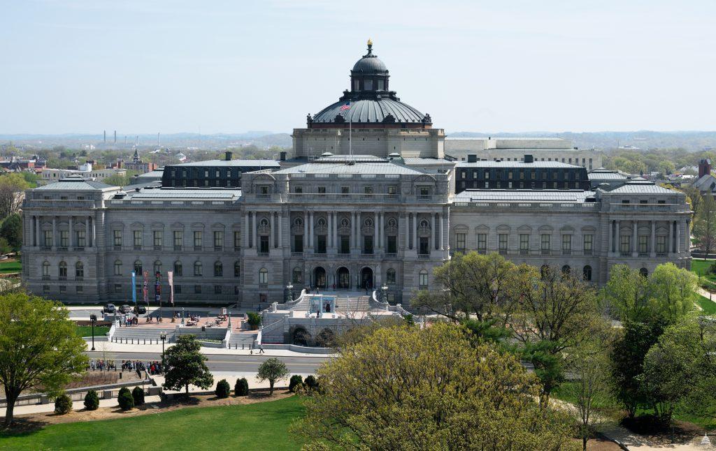 Фото Библиотеки Конгресса США