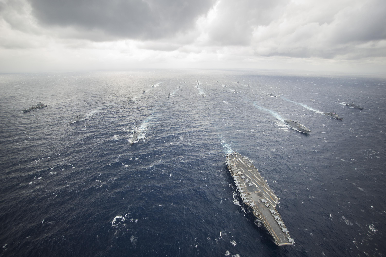 Американский флот авианосная группа фото