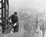 Фото строительства небоскреба в Нью-Йорке