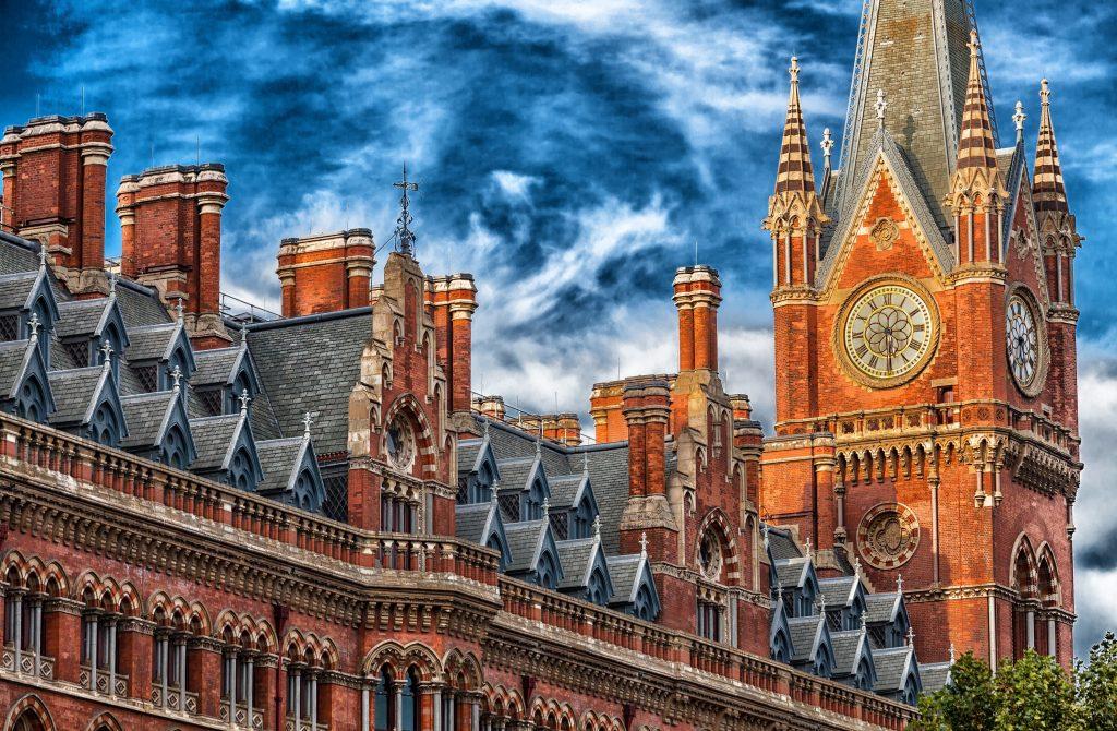 Отель в Лондоне St. Pancras Renaissance