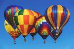 Фото воздушных шаров в небе