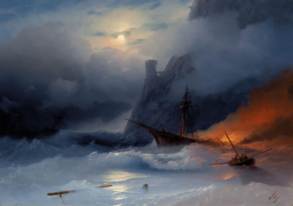 Айвазовский - картина Буря