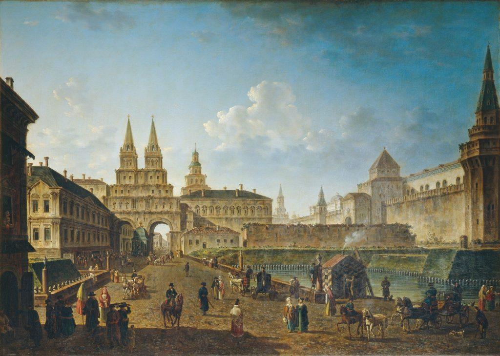 Федор Алексеев - Москва в 1811 году
