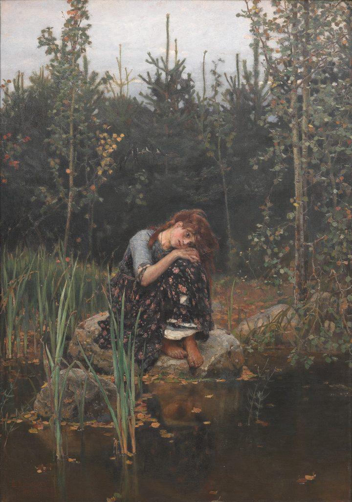 Васнецов Виктор - картина Аленушка