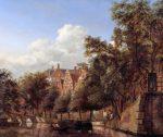 Амстердам, Голландия. 17 век картина