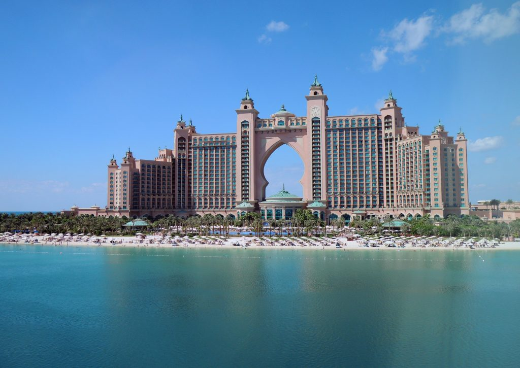 Отель Атлантис в Дубай, ОАЭ фото