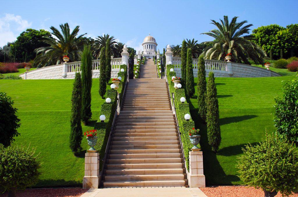Хайфа - Бахайские сады фото