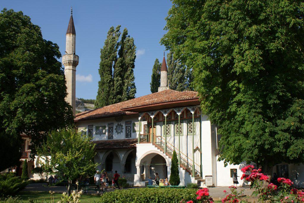 Ханский дворец в Бахчисарае фото