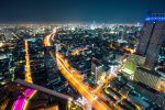 Ночная панорама Бангкока
