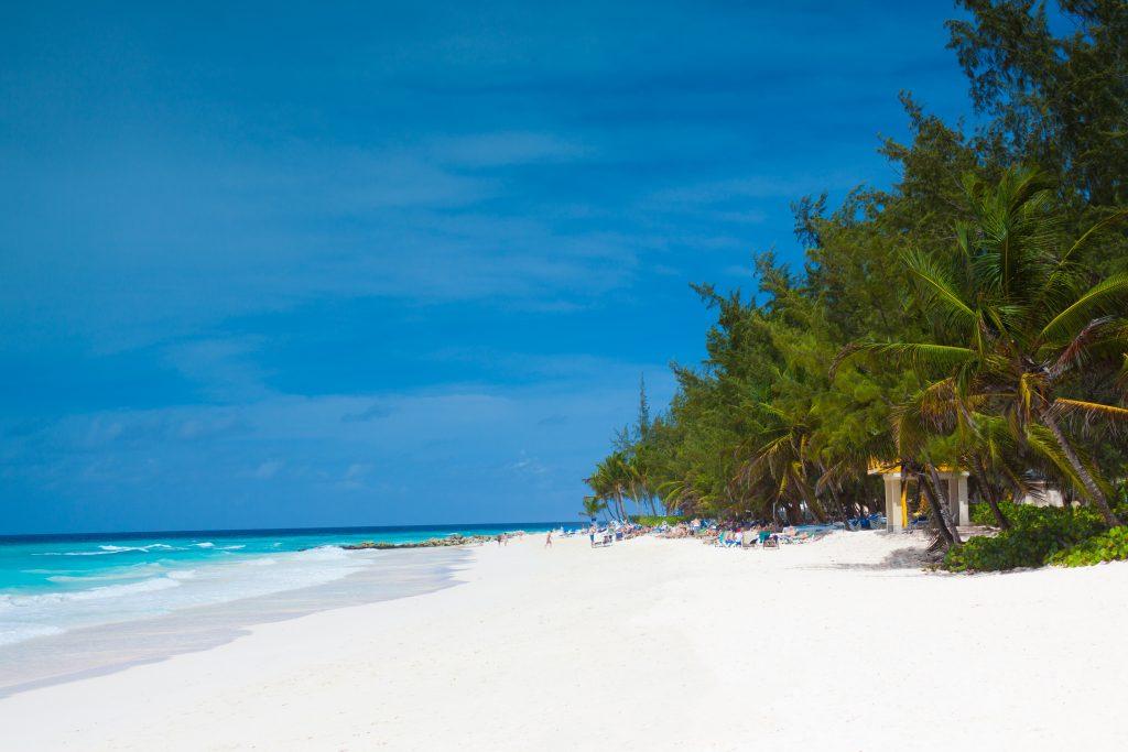 Коралловый пляж острова Барбадос