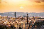 Красивая панорама Барселоны