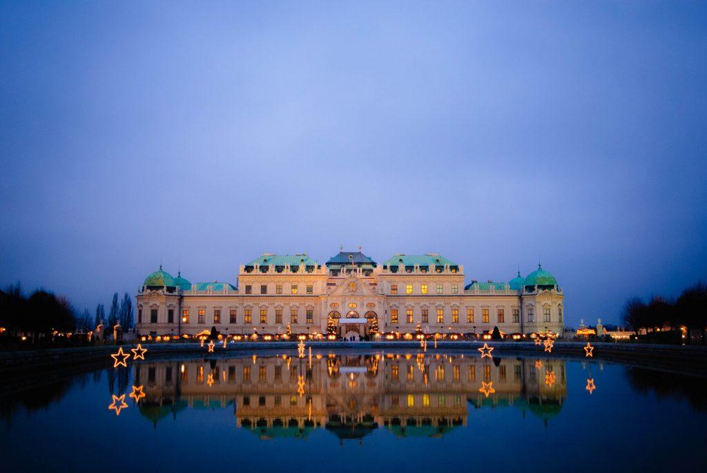 Фото дворца Бельведер в Вене