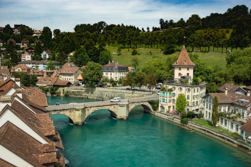 Столица Швейцарии город Берн