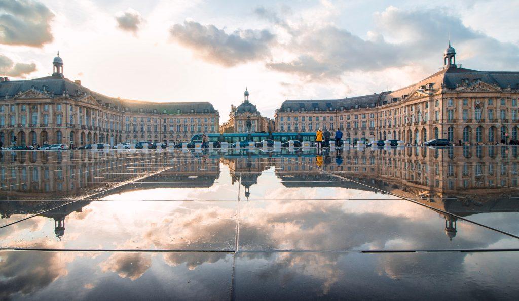 Биржевая площадь Бордо, Франция
