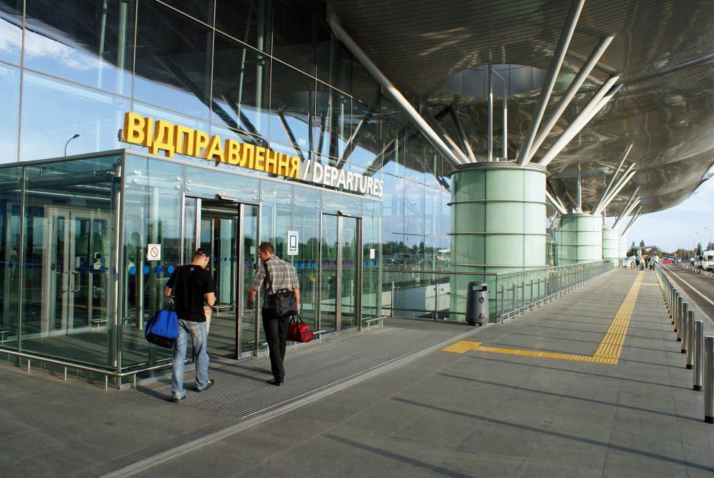 Фото аэропорта Борисполь в Киеве