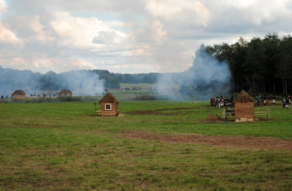 Бородинское сражение, Бородино, историческая реконструкция