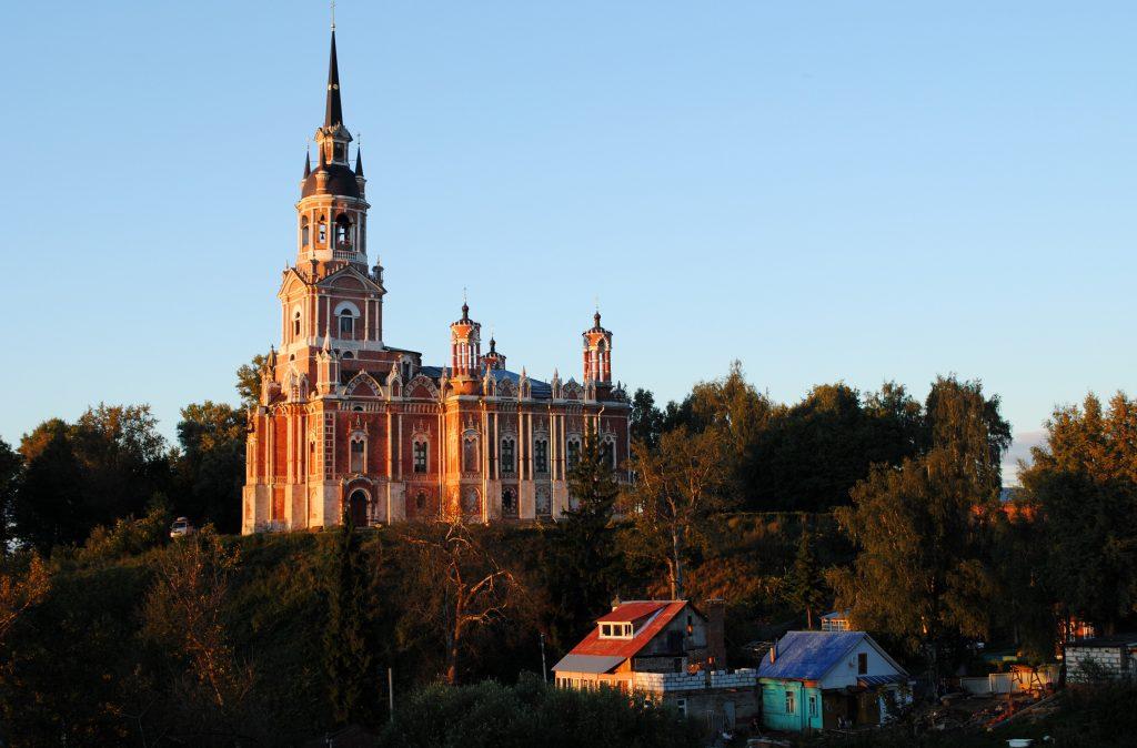 Можайский кремль - собор, Можайск, Россия