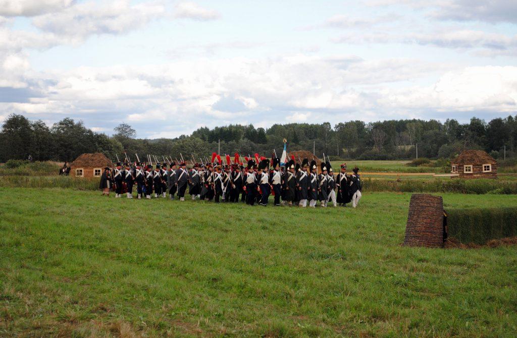 Бородинское сражение в Бородино, военная реконструкция