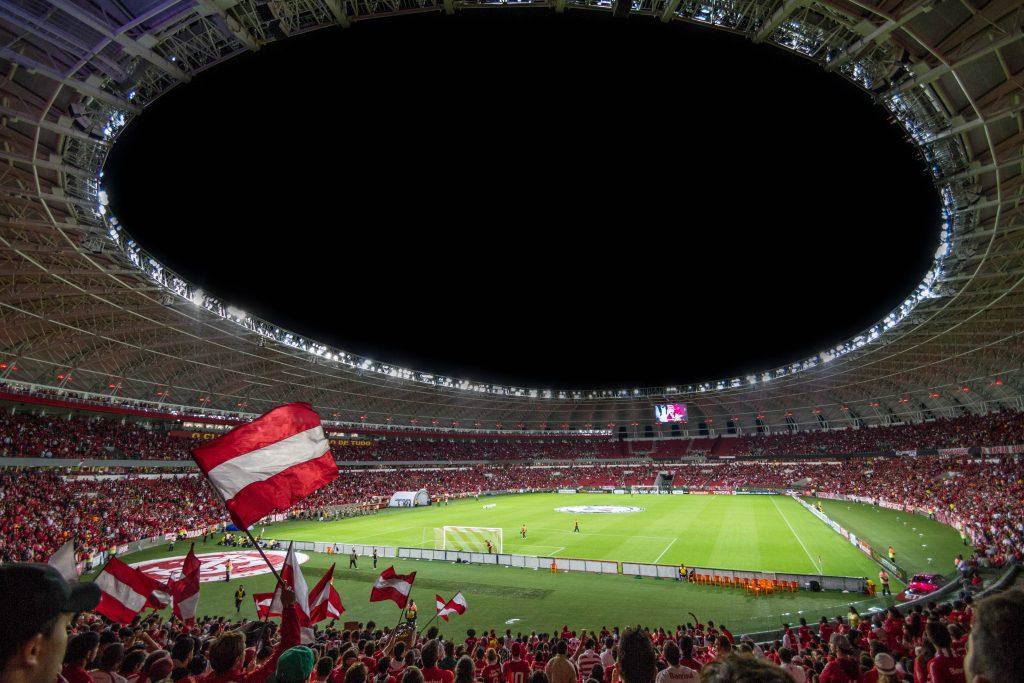 Чемпионат мира по футболу - футбольный стадион