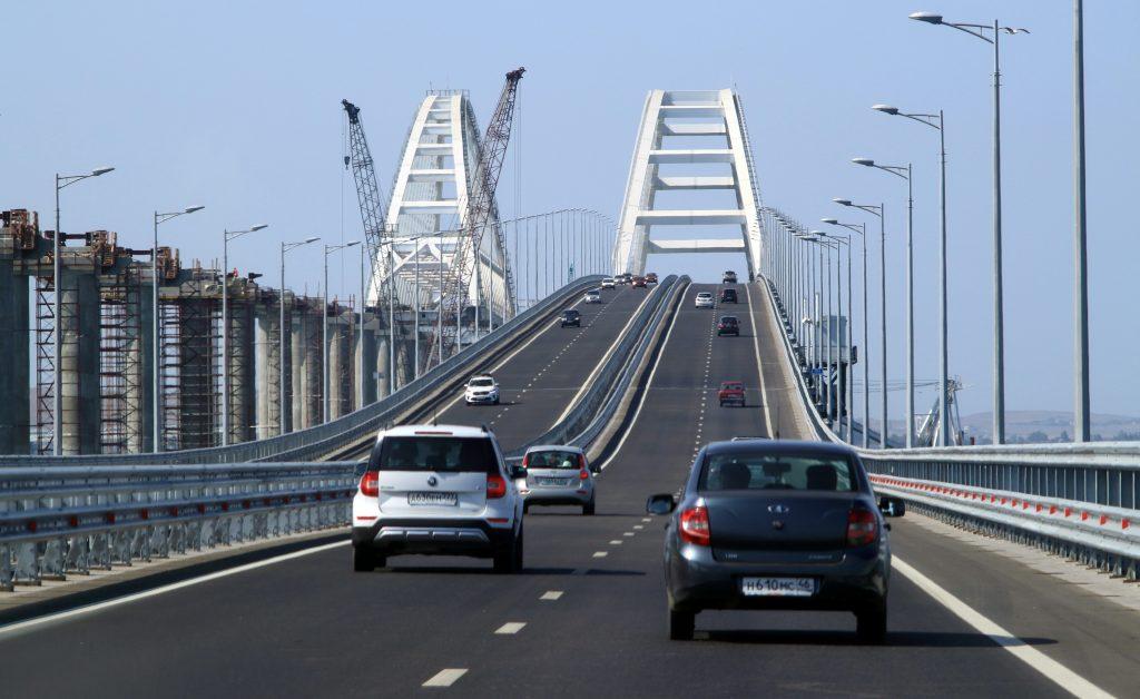 Крымский мост России фото