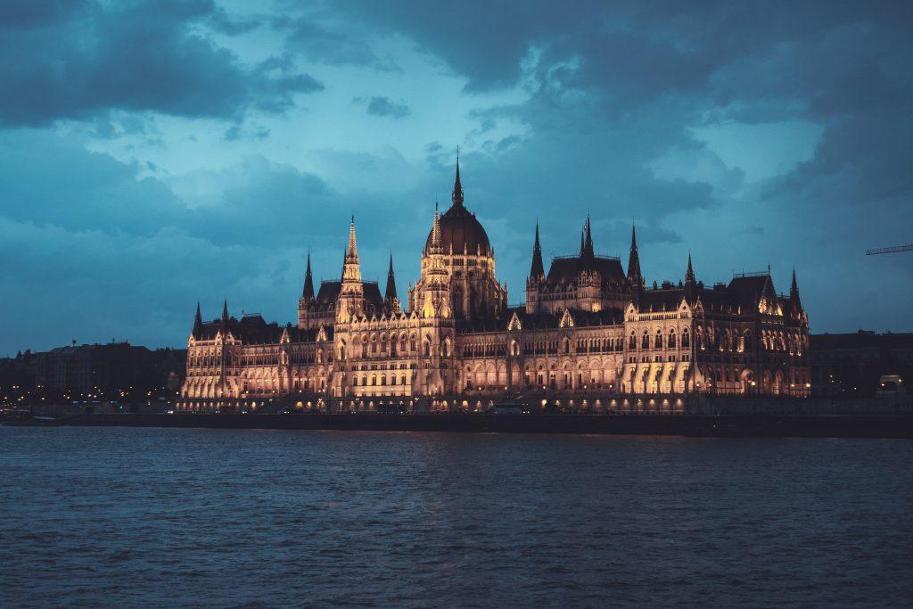Фото Венгерского Парламента в Будапеште