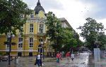 Пешеходный центр города Бургас, Болгария