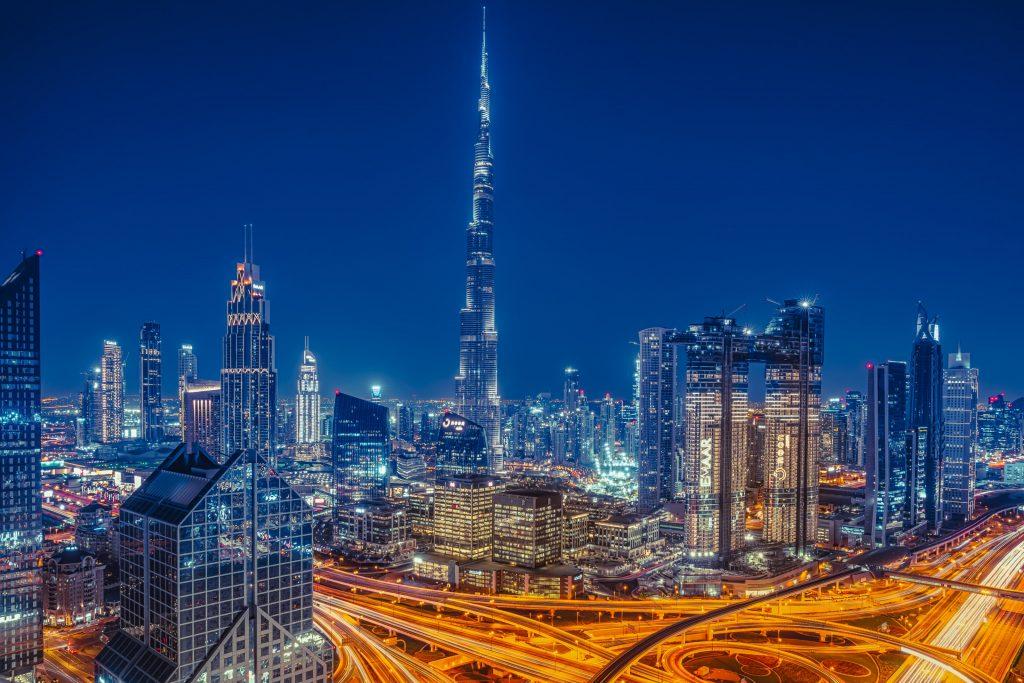 Небоскреб башня Бурдж‑Халифа, Дубай, ОАЭ