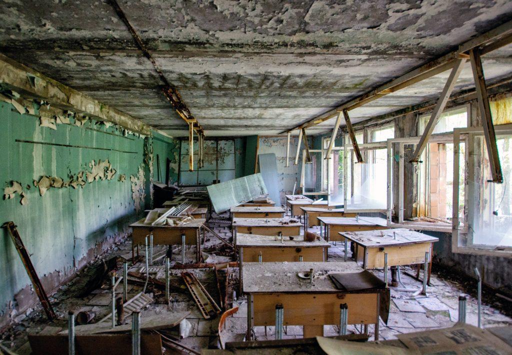 Советская школа в Припяти, Чернобыль