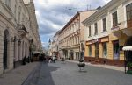 Пешеходная улица Кобылянской Черновцы