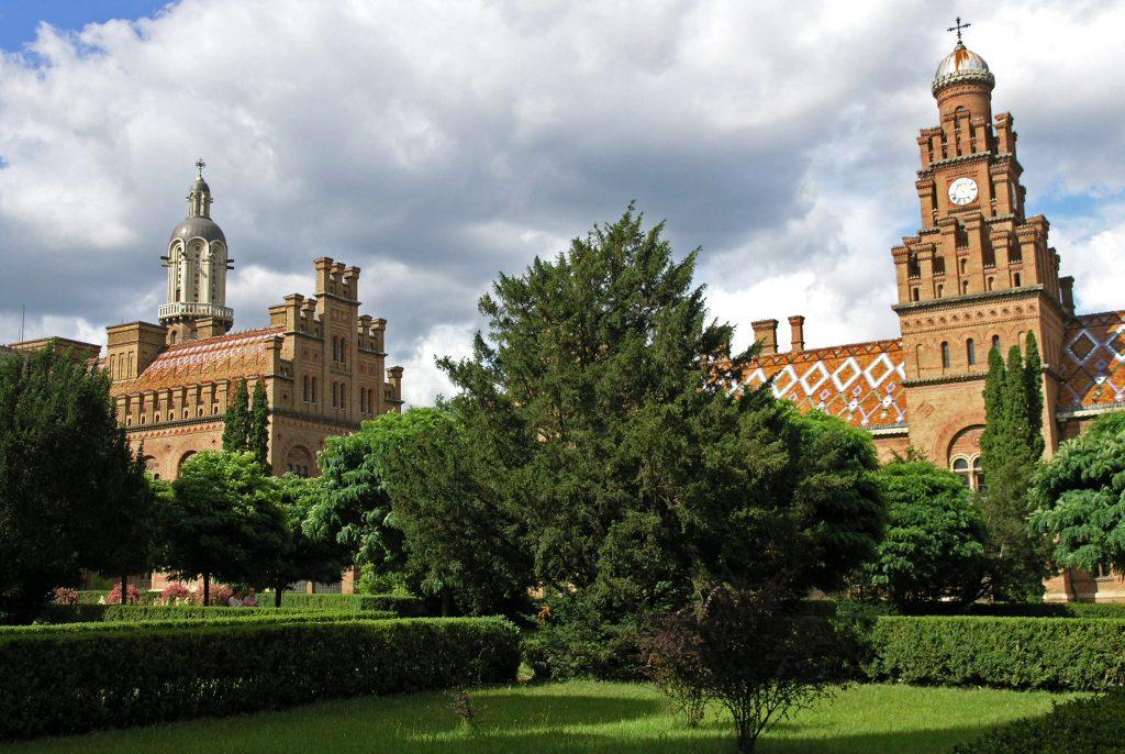 Резиденция митрополитов в Черновцах