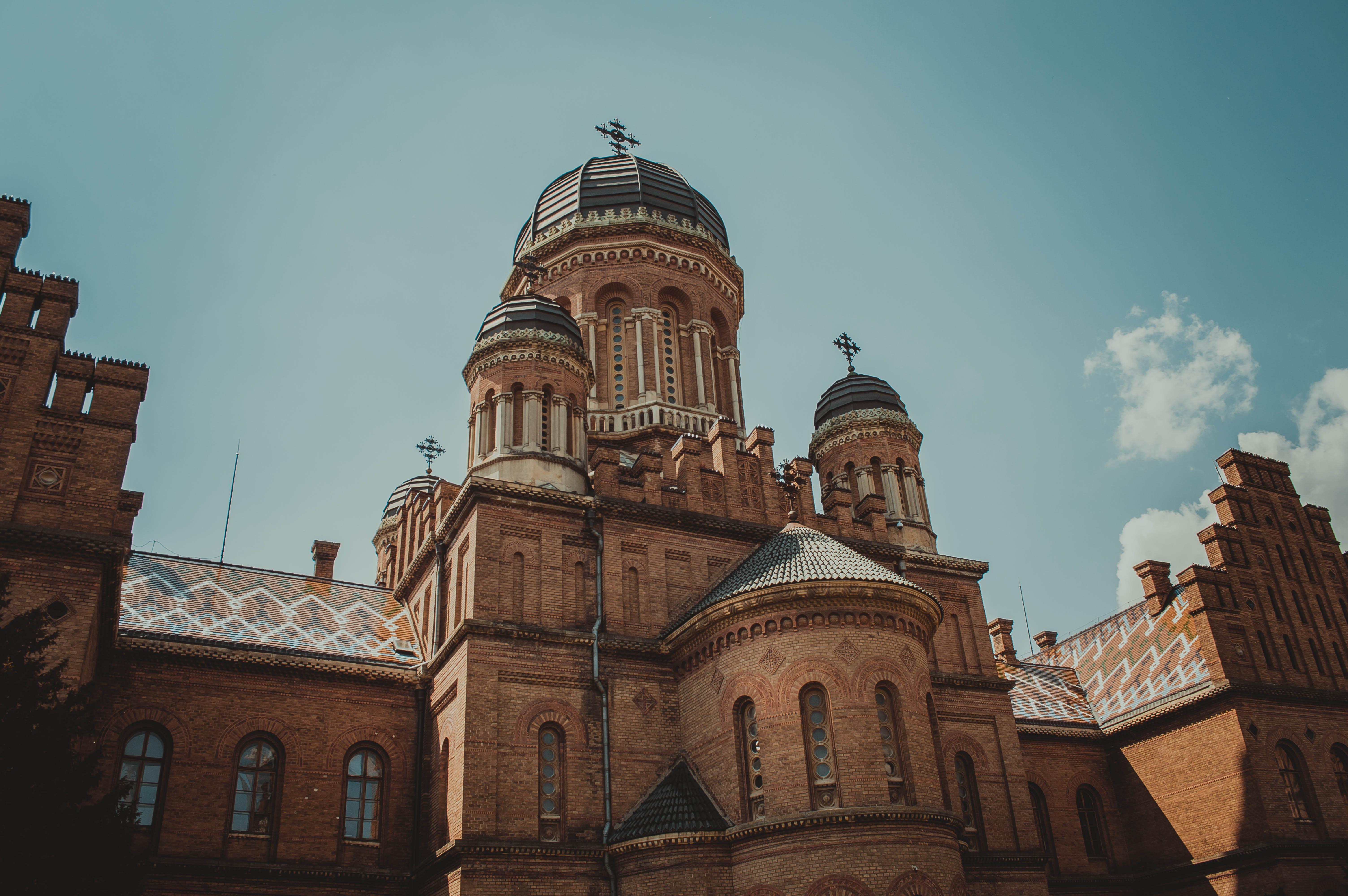 Черновицкий университет - бывшая резиденция митрополитов