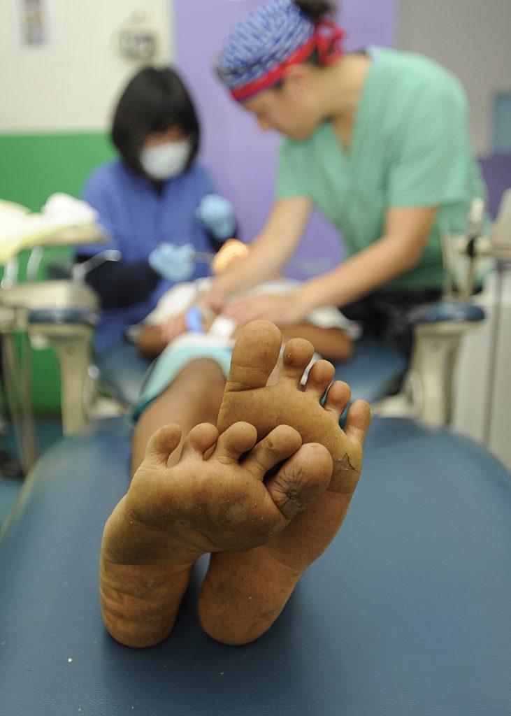 Фото ребенка в больнице