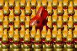 Пасхальные сладости - шоколадный заяц на Пасху