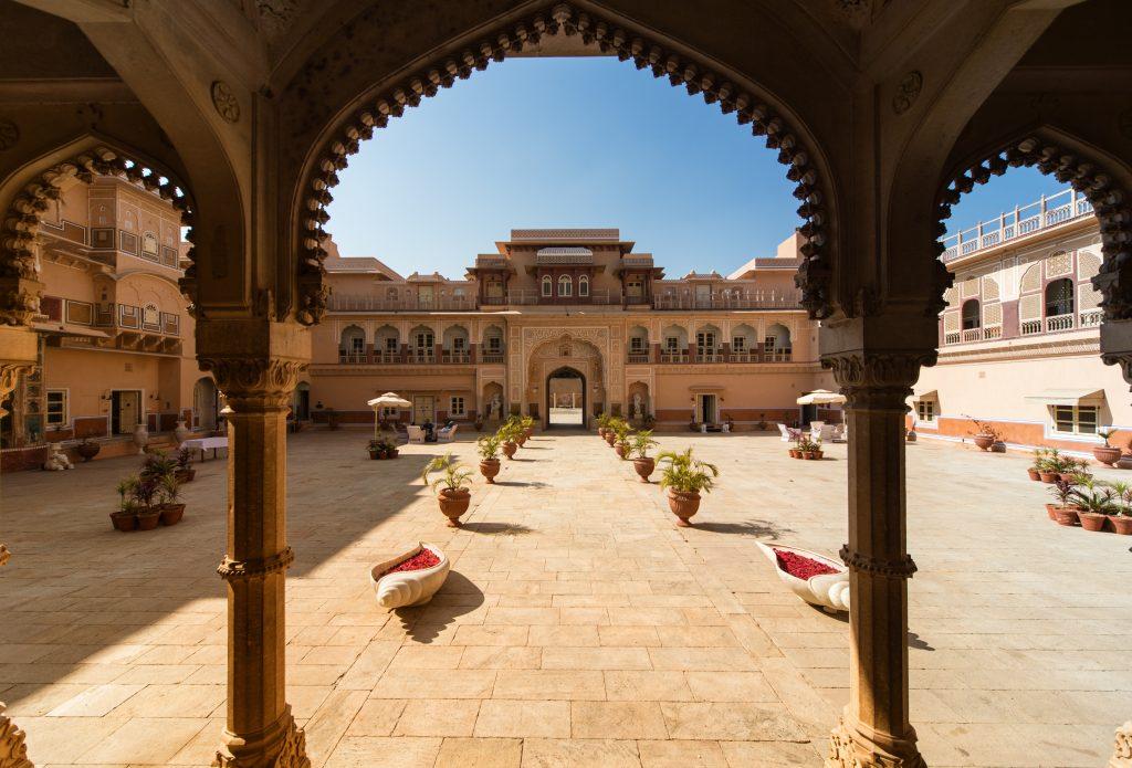 Индия Раджастан отель дворец Чому