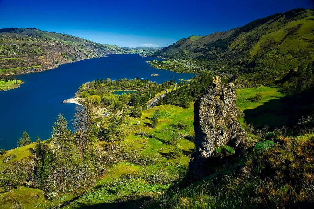 Река Колумбия, штат Орегон, США