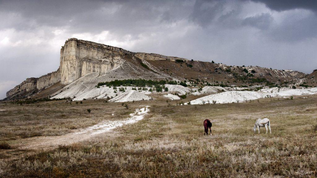 Крым Белая скала фото