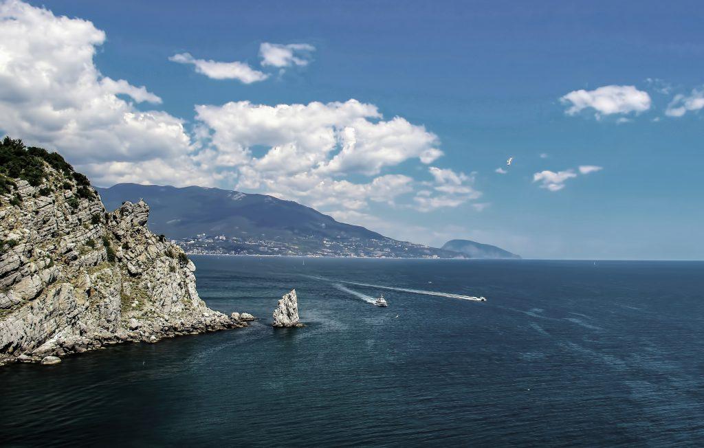 Южное побережье Черного моря в Крыму
