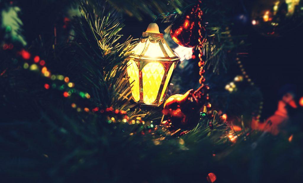 Новогодняя елка стоковое фото