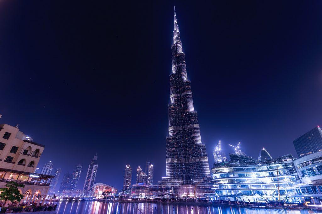 Дубай самый высокий небоскреб Бурж Халифа