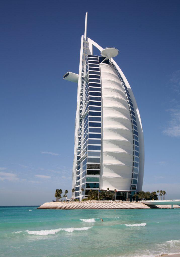 Дубай отель Парус, Персидский залив