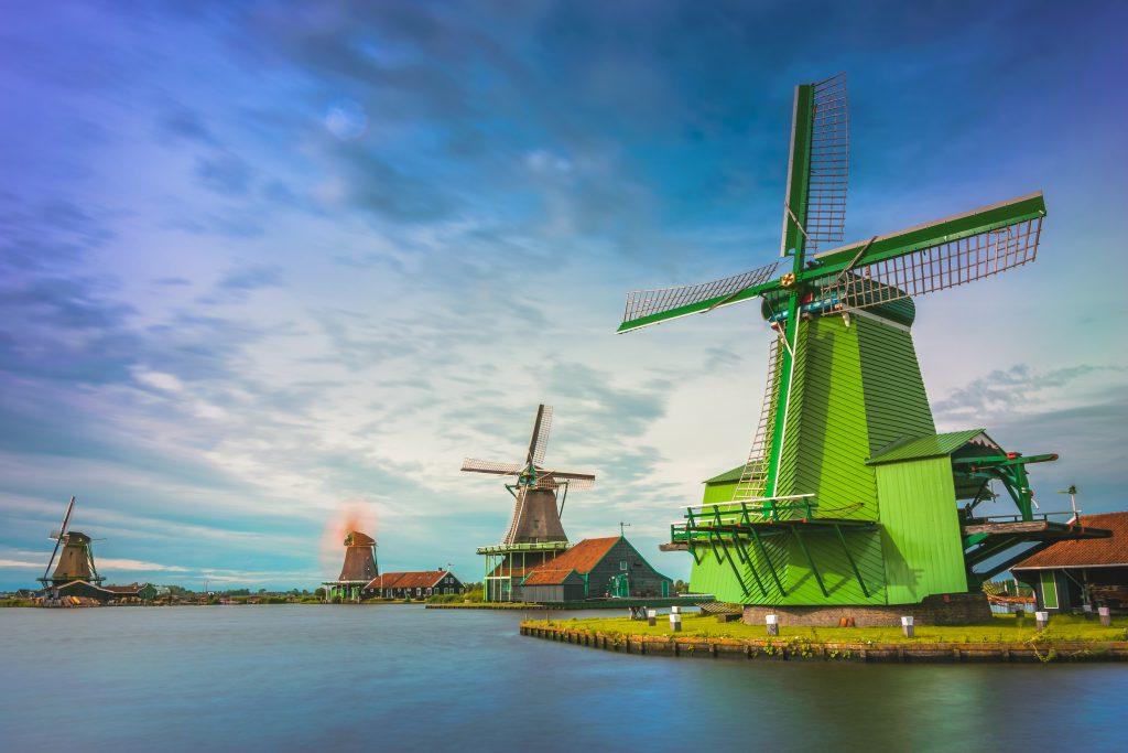 Ветряные мельницы в Дании