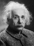 Знаменитый ученый Альберт Эйнштейн - ретро фото