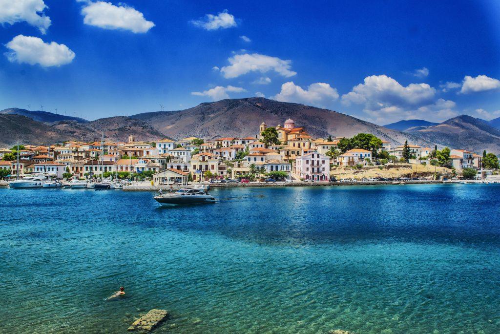 Курорт Галаксиди Греция
